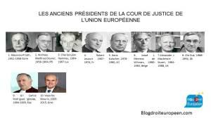 Présidents CJUE