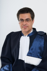 Portrait of judge Linos-Alexandre Sicilianos (Greece) Portrait du juge Linos-Alexandre Sicilianos (Grèce)