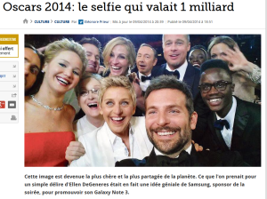Le selfie qui valait 1 milliard