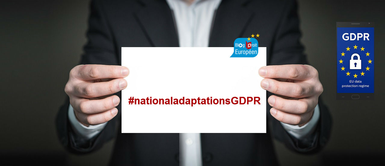 Open Access Book on National Adaptations of the GDPR, Mc